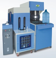 Semi-auto plastic bottle making machine