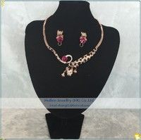 more images of LEOPARD Head Chain Necklace SET Wholesale China