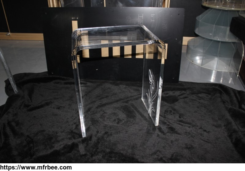 OEM design acrylic sofa end table