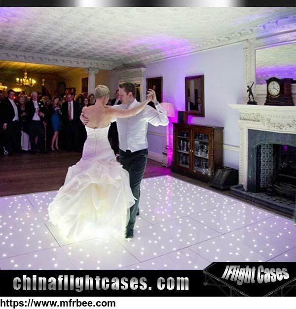 Factory price custom size illuminated used led wedding for Wedding dance floor size