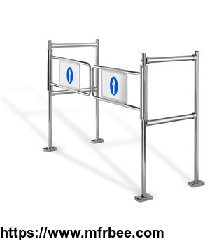 supermarket_dual_mechanical_swing_entrance_barrier_automatic_gate_opener