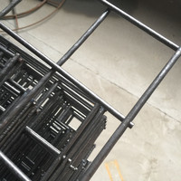 Black Welded Mesh Panel