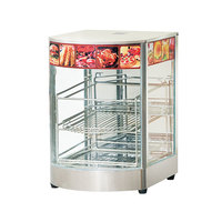RESTAURANT PROFESSIONAL ELECTRONIC GLASS HOT FOOD DISPLAY DH-1P