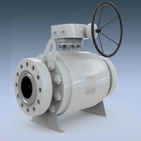 Trunnion Mounted Forged Steel Ball Valve, API 6D, 1/2IN, CL2500