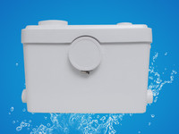 3 inlets Sanitary macerator pump for WC shower sink bath waste discharge