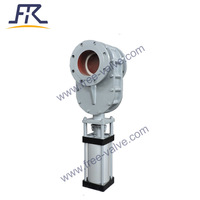 Pneumatic Full Ceramic Lined Double Disc Gate Valve