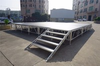 Aluminum Stage Truss Portable Stage with Roof for Outdoor Performance Event