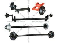 High quality trailer spring/tosion/tandem axles for 2000 lbs to 12000 lbs load capacity