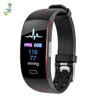 2019 Amazon Top Selling Smartwatch with PPG ECG Medical Grade Test Fitness Tracker P3 Bluetooth Health Monitor Smart Bracelet