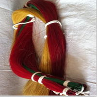 dyed color horse hair extension