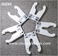 ISO30 Plastic Tool Finger Forks for HSD Auto Tool Changer CNC Routers