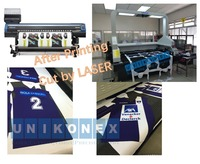 more images of Dye sublimation printed sports jersey laser cutting