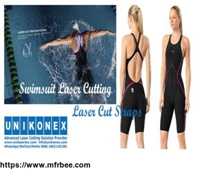 Swimsuit laser cutting by Unikonex