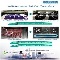 more images of Fabric and Dye sublimation printed fabric laser cutting by Unikonex