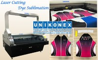Laser cutting dye sublimation