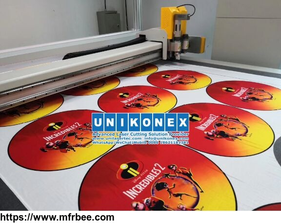 sublimated printing fabric cutting
