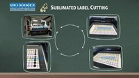 Sublimated labels and sublimated twill