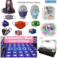 Transform sublimated jerseys to sublimation mask laser cutting