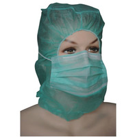 Disposable curgical hood mask Polypropylene Medical Hoods