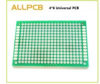 10pcs High-quality!! Double Side Prototype PCB diy Universal Printed Circuit Board 4x6cm Hot sale
