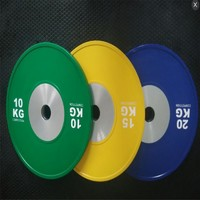 Competition Crossfit Wholesale Rubber Bumper Plates
