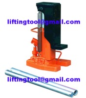 Height of hydraulic jack