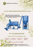 dry powder mortar mixer machine