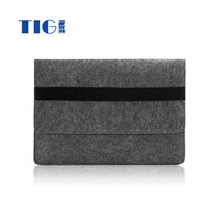 Fashion Portable durable Felt laptop bag / notebook case