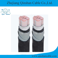 Copper core xlpe insulated PVC sheathed electric cable