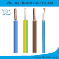 4mm² Single core copper conductor PVC insulated electrical wire (BV wire)