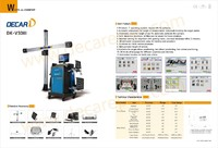 automatic camera 3d wheel aligner for sale DK-V3DIII