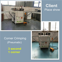 Pneumatic Corner Crimping Machine LMQZ-160