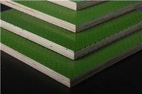 1220*2440mm 915*1830mm Waterproof plastic film faced plywood