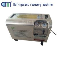 R1234yf/R600A CMEP-OL Oil-less and High Efficiency Explosion Proof refrigerant liquid and gas recovery/recharge/vacuum Machine