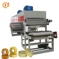 GL-1000B Full automatic/bopp film printing coating slitting rewinding adhesive tape coating machine