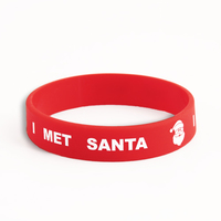 SANTA custom wristbands
