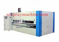 CNC Cabinet Door Spray Machine/Furniture panel spray painting machine