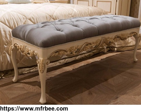 bedroom_furniture_modern_designs_wooden_bed_end_stool_foshan_furniture