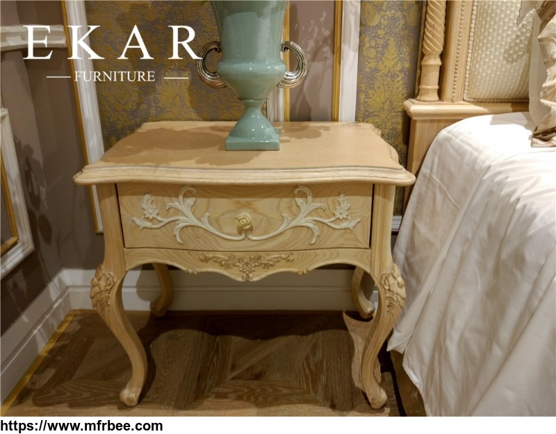 europen_style_bedroom_furniture_wood_antique_flower_nightstand