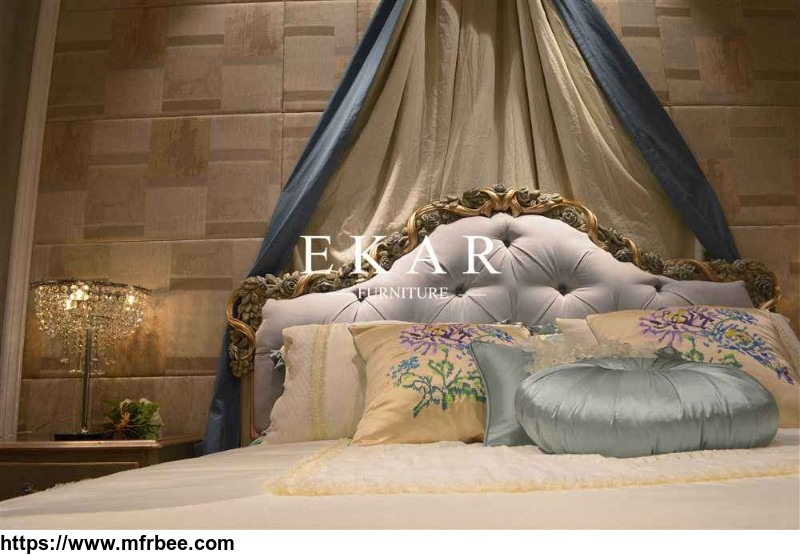 new_model_purple_soft_bed_antique_bed
