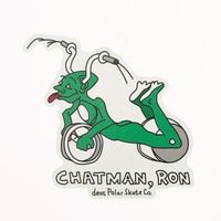 Custom Stickers No Minimum | Polar Ron Chatman Stickers | GS-JJ.com ™