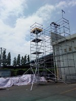 China manufacture aluminium mobile scaffold tower with factory price