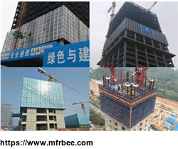 Attached type electrical lifting /Self-climbing formwork/scaffold/frame/template system manufacturer/supplier
