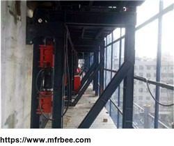 High efficiency hydraulic auto-climbing/self-climbing formwork system manufacturer/supplier