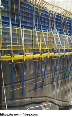 hydraulic_climbing_formwork_system_for_massive_concrete_building_construction