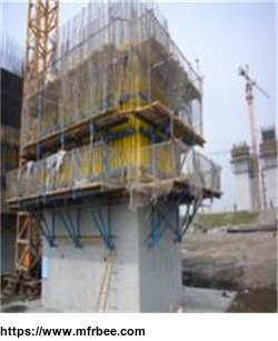 tower_crane_cantilever_powerless_portable_lifting_formwork_platform_system