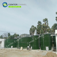 Glass-Fused-to-Steel fire protection water storage tanks manufacture in China
