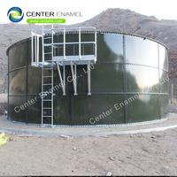 30000 gallon Acid and Alkali Resistance glass lined steel Industrial Water Tanks