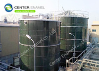 Glass Fused To Steel Bolted Wastewater Storage Tanks