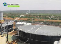 Circular Agricultural Water Storage Tanks For Wastewater Treatment